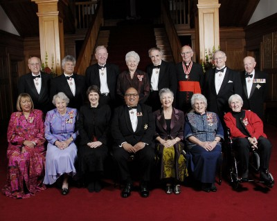Order of New Zealand 20th Anniversary Celebrations.