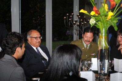 The Governor-General and Willie Apiata VC.