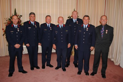 Firefighters recognised.