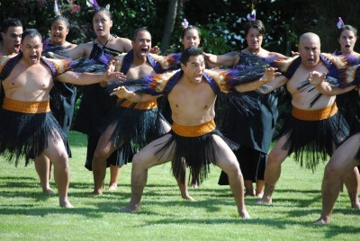 New Zealand Defence Force cultural party.
