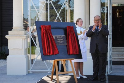 Plaque unveiling - Government House.