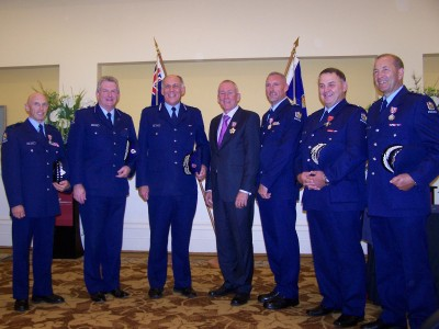 Police officers honoured.