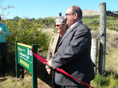 Lakeside Trail Opening.
