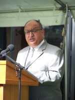 Governor-General gives his Waitangi Day address.