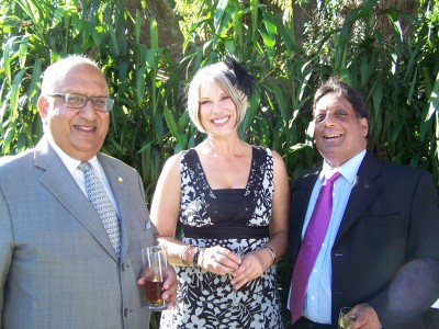 Vijay Satyanand and Catherine Gow.
