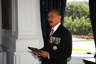 The Governor-General gives his address to those that are to become new New Zealanders.