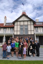 New Zealand Citizenship Ceremony on Waitangi Day.