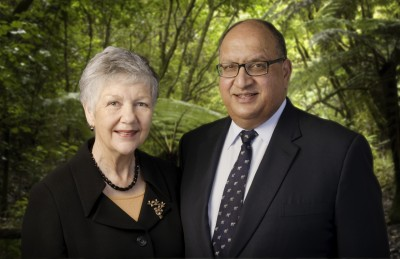 The Governor-General and Lady Susan Satyanand.