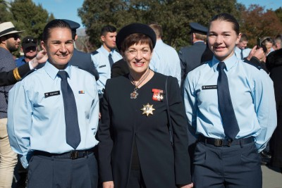 RNZAF Graduation Parade.