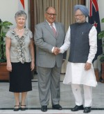 Meeting the Prime Minister.