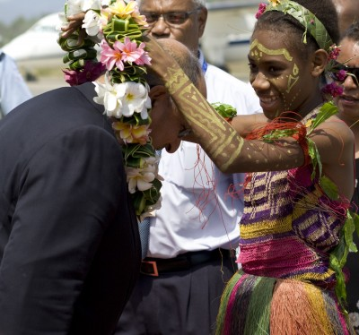 Welcome to Papua New Guinea.