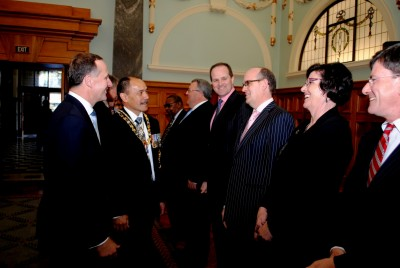 The Governor-General meets Ministers of the Crown.