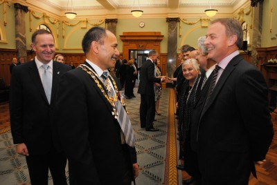 Sir Jerry Mateparae meets Hon Phil Goff, Leader of the Opposition.