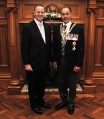The Prime Minister and Governor-General of New Zealand.